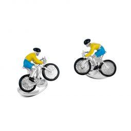 Photo of Bike & Rider Deakin & Francis Cufflinks