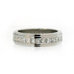 Photo of 15090 Diamond Set Wedding Bands