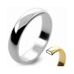Photo of D-Shape Plain & Patterned Wedding Bands