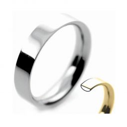 Photo of Flat court Plain & Patterned Wedding Bands