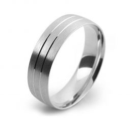 Photo of W13 Plain & Patterned Wedding Bands