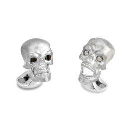 Photo of Skulls with Diamond Eyes Deakin & Francis Cufflinks