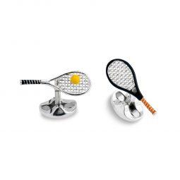 Photo of Tennis Rackets & Balls Deakin & Francis Cufflinks