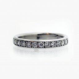 Photo of 21032 Diamond Set Wedding Bands