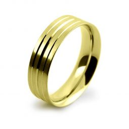 Photo of W12 Plain & Patterned Wedding Bands